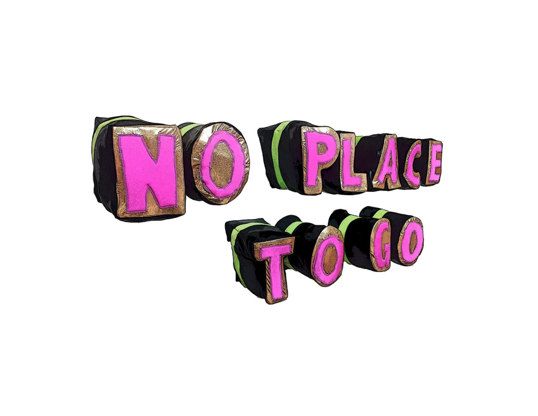 No Place to Go Logo