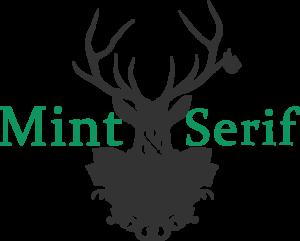 Mint & Serif Logo