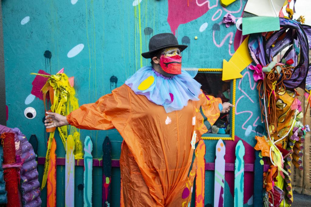 Image of Clown House, Artist: Moe Gram