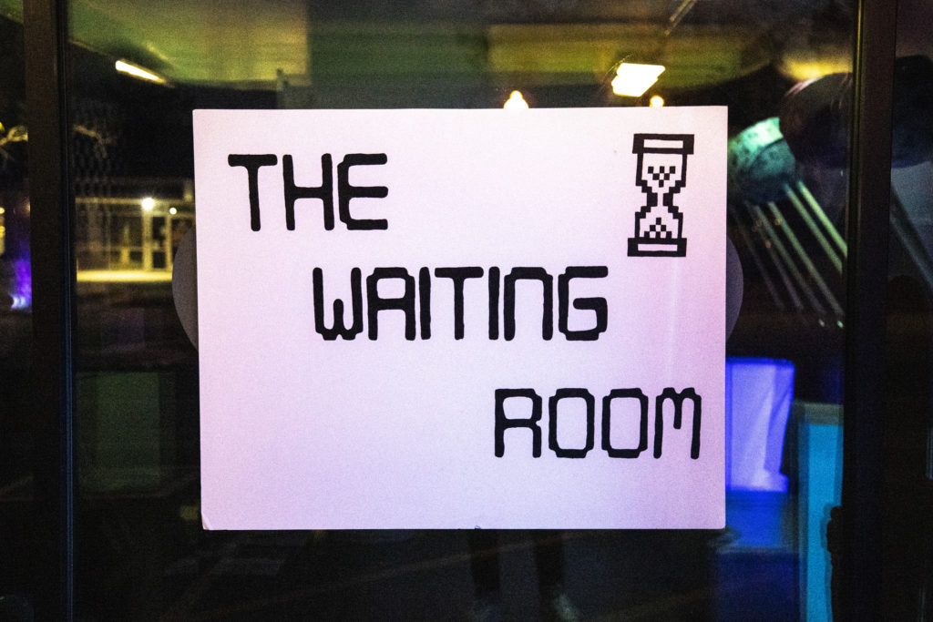 Image of The Waiting Room, Artists: Hayley Dixon & Renee Marino